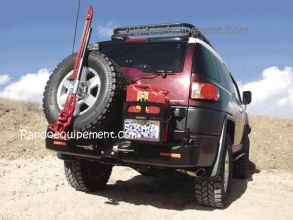 TOYOTA FJ CRUISER PORTE JERRICAN SIMPLE DROIT KAYMAR - Support jerrycan