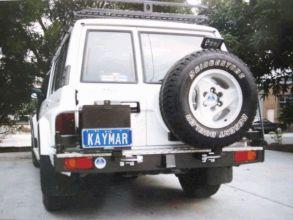 NISSAN PATROL Y60 PORTE-JERRYCAN SIMPLE GAUCHE  KAYMAR
