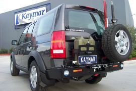 LAND ROVER DISCO III PORTE-JERRYCAN SIMPLE GAUCHE  KAYMAR