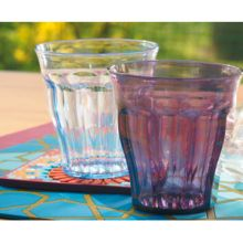 x VERRES  ST BARTH. POLYCARBONATE PRUNE CAMPING