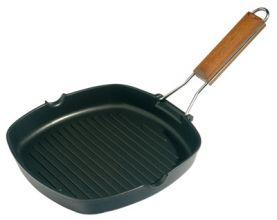 GRILL EN FONTE 24X24 Casserole spéciale en fonte pour grillades