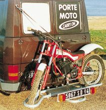 PORTE-MOTO 4x4 VOITURE ET CAMPING CAR