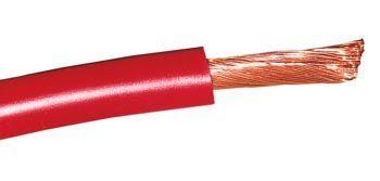 CABLE MONOCONDUCTEUR 10 MM² ROUGE PAR 5
