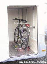 PORTE-VELOS GARAGE 2 VةLOS CAMPING CAR - Porte-vélos soute camping-car