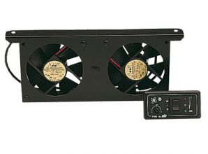 VENTILATEUR DOUBLE AUTOMATIQUE 12 V
