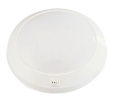 APPLIQUE RONDE 230MM WHITE