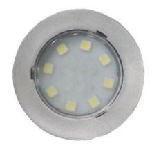 SPOT 6 LEDS FIXE CHROME