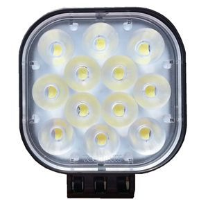 SPOT 6 LEDS FIXE CHROME CARRE