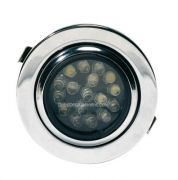 x SPOT 17 LEDS ENCASTRABLE ORIENTABLE CHROME - Spot 17 leds encastrable