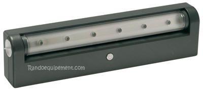 x REGLETTE  ORIENTABLE 6 LEDS A PILE - réglette orientable 6 Leds à piles