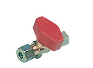 VANNE GAZ TRUMA 1 VOIE  ط  E10/S8 + RACCORDS BICONES - Vannes gaz truma 1 voie