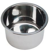 EVIER INOX CYLINDRIQUES 285 x260 MM - evier inox cylindrique 285 x260 mm
