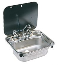 EVIER INOX  AVEC COUVERCLE TYPE 8005
