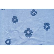 x DRAP  DE RECHANGE FLEUR BLEU 125X190 - Drap rechange fleur bleu