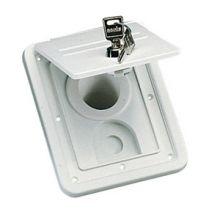 COUPELLE REMPLISSAGE BLANCHE CHANTAL A CLE Bouchon de réservoir d'eau