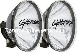 PHARE LONGUE PORTEE LIGHT FORCE 240 LDMR 12V 100W -  BLITZ (paire)