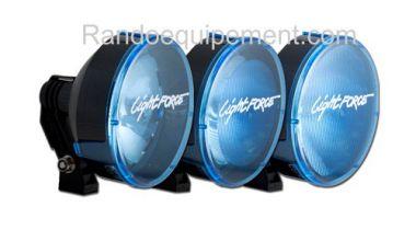 x LIGHT FORCE 210: Cache/Filtre BLEU grand angle pour longue portée Light Force