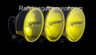 x LIGHT FORCE 170: Cache/Filtre JAUNE grand anglepour longue portée Light Force