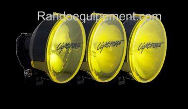 x LIGHT FORCE 170: Cache/Filtre JAUNE grand anglepour longue portée Light Force