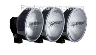 x LIGHT FORCE 210: Cache/Filtre TRANSPARENT grand angle genesis