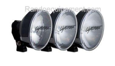 x LIGHT FORCE 240: Cache/Filtre TRANSPARENT spot pour longue portée Light Force
