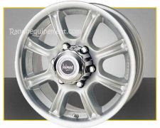 LAND ROVER : Range Rover P38 / L322/ Discovery II/III: JANTES BB6 BLANCHE 17 x 8