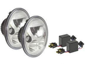 PHARE LED VORTEX VISION X - OPTIQUE LED VORTEX - VORTEX LED HEADLIGHT 177mm