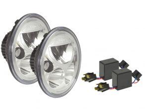 PHARE LED VORTEX VISION X - OPTIQUE LED VORTEX - VORTEX LED HEADLIGHT 177mm
