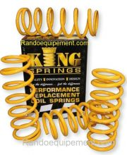 LAND ROVER Disco III ARRIERE TRES LOURD RESSORT HELICOIDAL KING SPRINGS