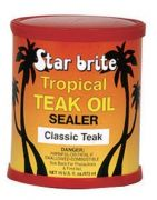 ENTRETIEN DU TECK  NATUREL (TROPICAL TEAK OIL + SEALER) 473 ML STAR BRITE