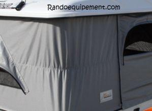 x OPTION COULEUR TOILE GRIS FONCEE pour Tente de toit