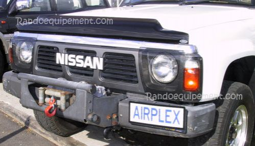 Protection de phare plexy 4x4 NISSAN Patrol Y60 95-97