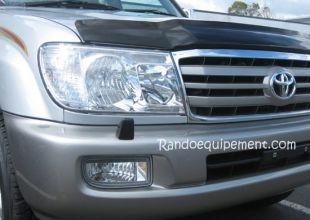 PROTECTION DE PHARE PLEXY 4X4 TOYOTA 100 HDJ 100 > 05