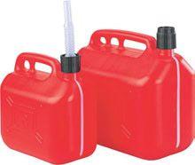 Jerrycan pour carburants 10 litres à bec verseur