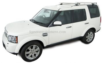 BARRES DE TOIT LAND ROVER DISCOVERY III ET IV 4WD  pour galerie KIT RHINORACK