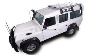 BARRES DE TOIT LAND ROVER DEFENDER 90 / 110 / 130 -  3 barres et fixations