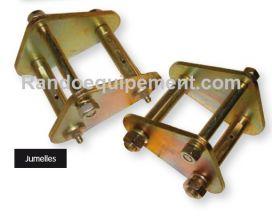 Accessoires pour lames: jumelles pour lames de suspension