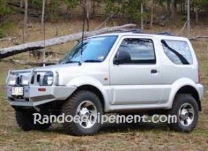 SUZUKI JIMNY équipements renforcés raids 4x4 Jimni - Accessoires et suspensions