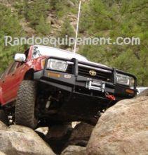 TOYOTA RUNNER équipements renforcés raids 4x4 - Accessoires et suspensions