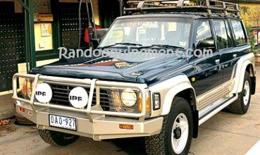 NISSAN PATROL Y60 équipements renforcés raids 4x4 - Accessoires et suspensions