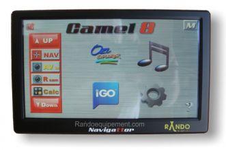 GPS 4X4 NAVIGATTOR Camel 8 CE Navigateur GPS et LECTEUR CARTES