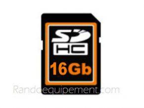 Carte SD 16GO pour GPS 4X4