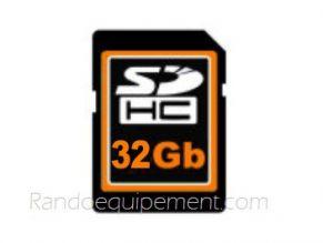 Carte SD 32GO pour GPS 4X4
