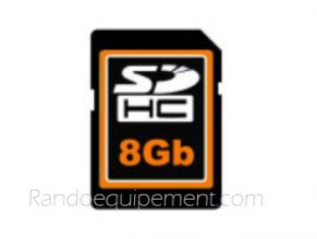 Carte SD  8GO pour GPS 4X4