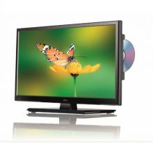 TV LED 16'' HD SLIM AVEC DVD INTEGRE ET TUNER TNT POUR CAMPING-CAR