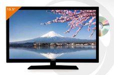 TV LED HD 19.5'' DVD AVEC TUNER TNT HD - ANTARION