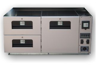 x DAYBOX 50L - Combiné Eau Electricité pour Coffres CARBOX