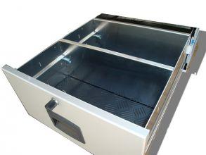 x x CLOISON DE SEPARATION POUR TIROIR ALUMINIUM CAR'BOX 450 ou 400