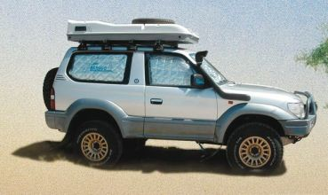 KIT ISOLATION VITRES 4X4 - PARE SOLEIL LAND ROVER DISCOVERY III