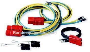 Accessore treuil amovible: CآBLAGE ELECTRIQUE 50AMP / PRISES RAPIDES SSV